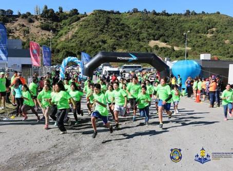 Más de 200 personas participaron en corrida familiar de Camanchaca Cultivos Sur