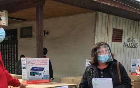Tejiendo Redes: algueras y mariscadoras chilotas reciben 151 equipos de cocina