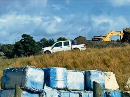 Vecinos y municipio acusan daño ambiental en Dalcahue
