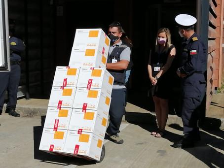 18 mil dosis de vacunas Sinovac ya están en el Archipiélago