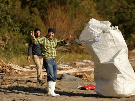 Ventisqueros organiza limpieza de playas en Chaitén
