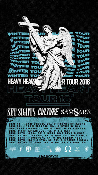 CVLTVRE Announces Winter Tour with Set Sights, and Samsara !