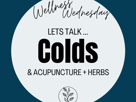 Lets Talk... Colds.
