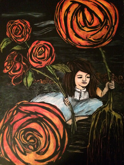 She Picked Roses
