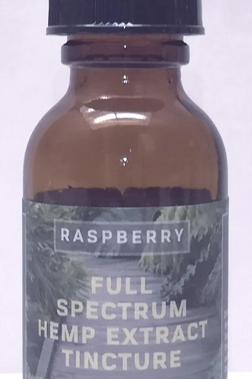 Full SpectrumHemp Extract CBDTincture (Raspberry) 750mg