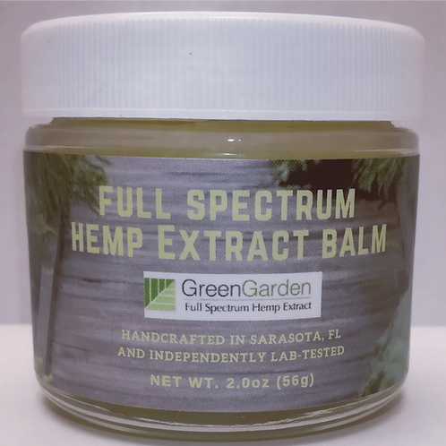 Full Spectrum Hemp Extract CBD Balm 600g