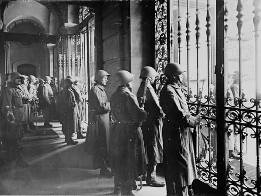 1918 스위스 총파업 덕에 파리는 어부지리