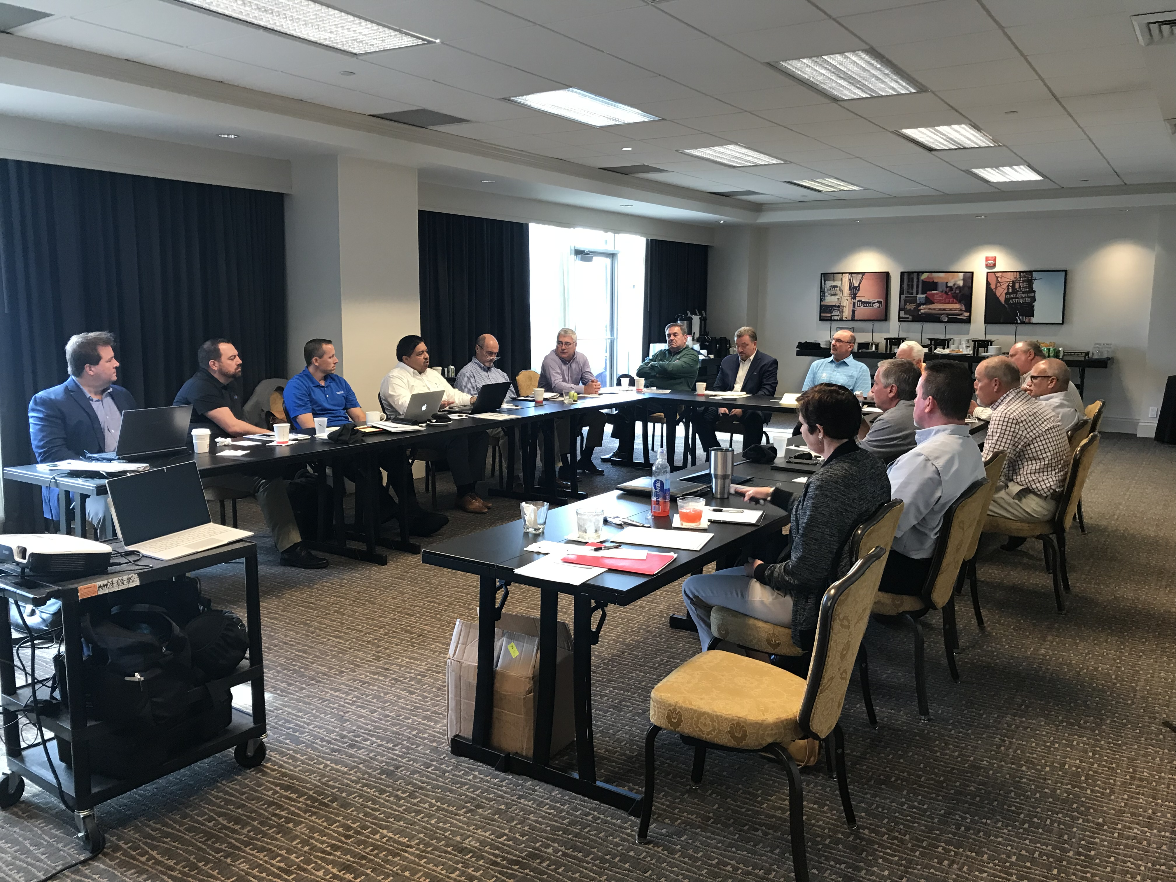 Meeting from New Orleans