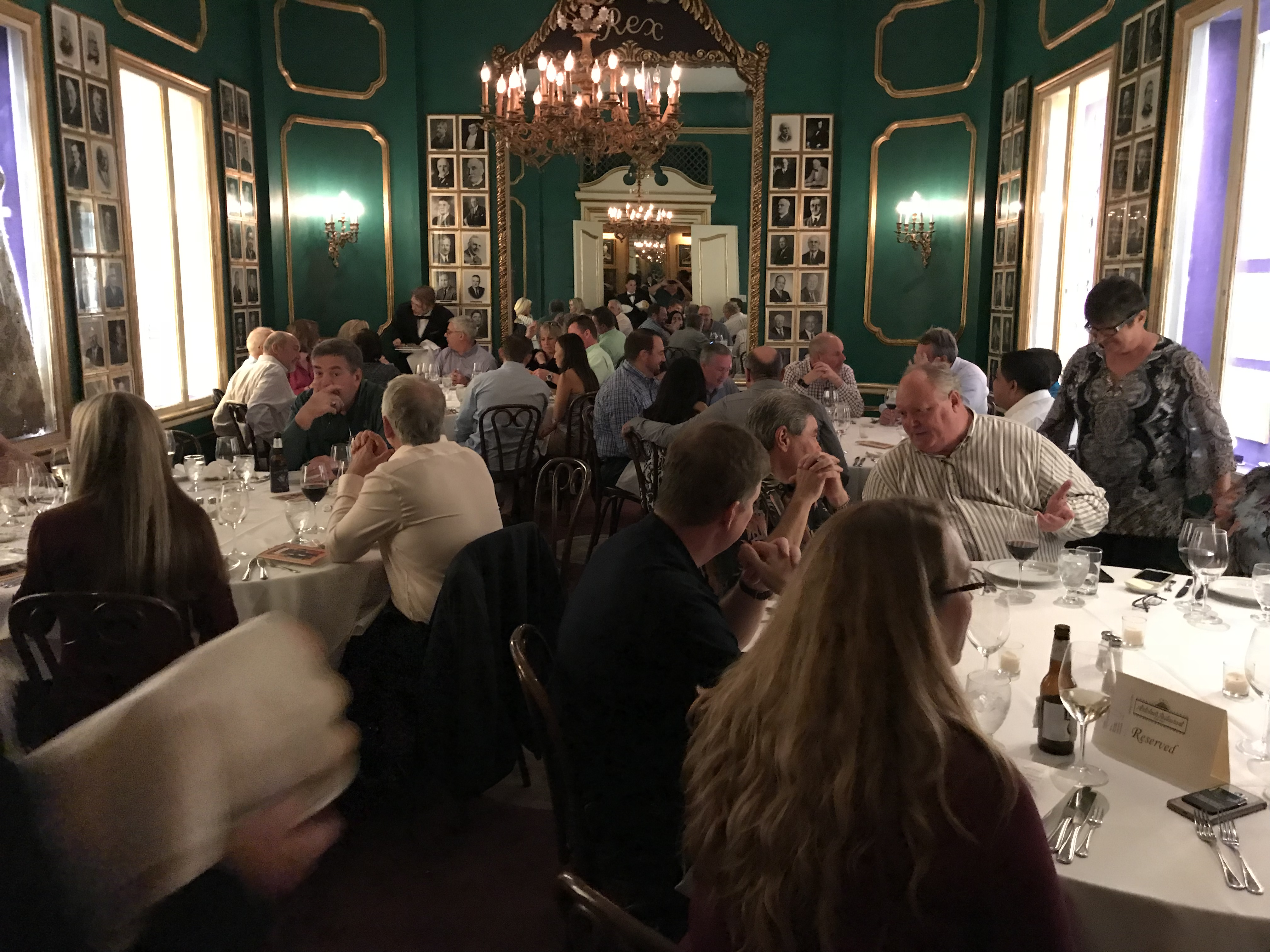Welcome Dinner in New Orleans