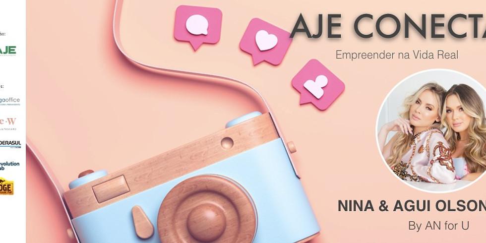 AJE Conecta com Agui e Nina Olson