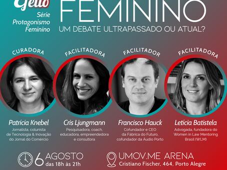 Empoderamento Feminino é tema de debate em evento do Dito Efeito
