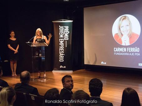 AJE POA realiza a 1ª Edição do Prêmio Jovem Empresário