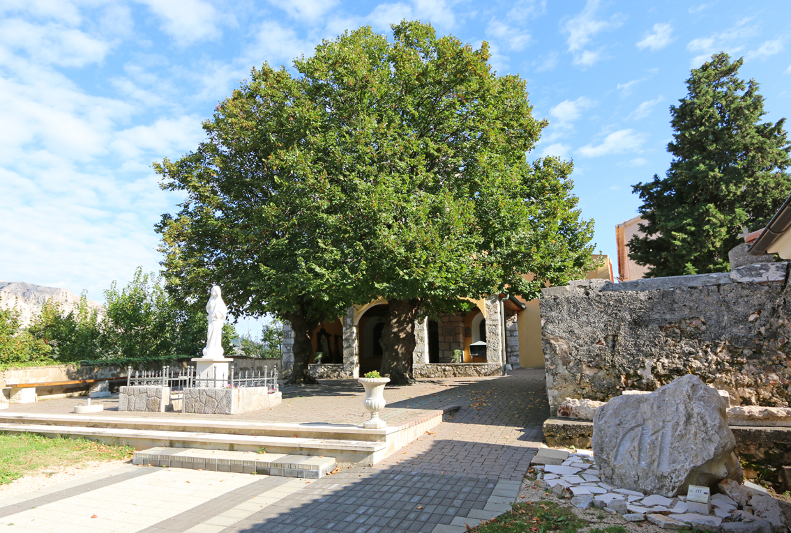 church of the mother of god, Baska