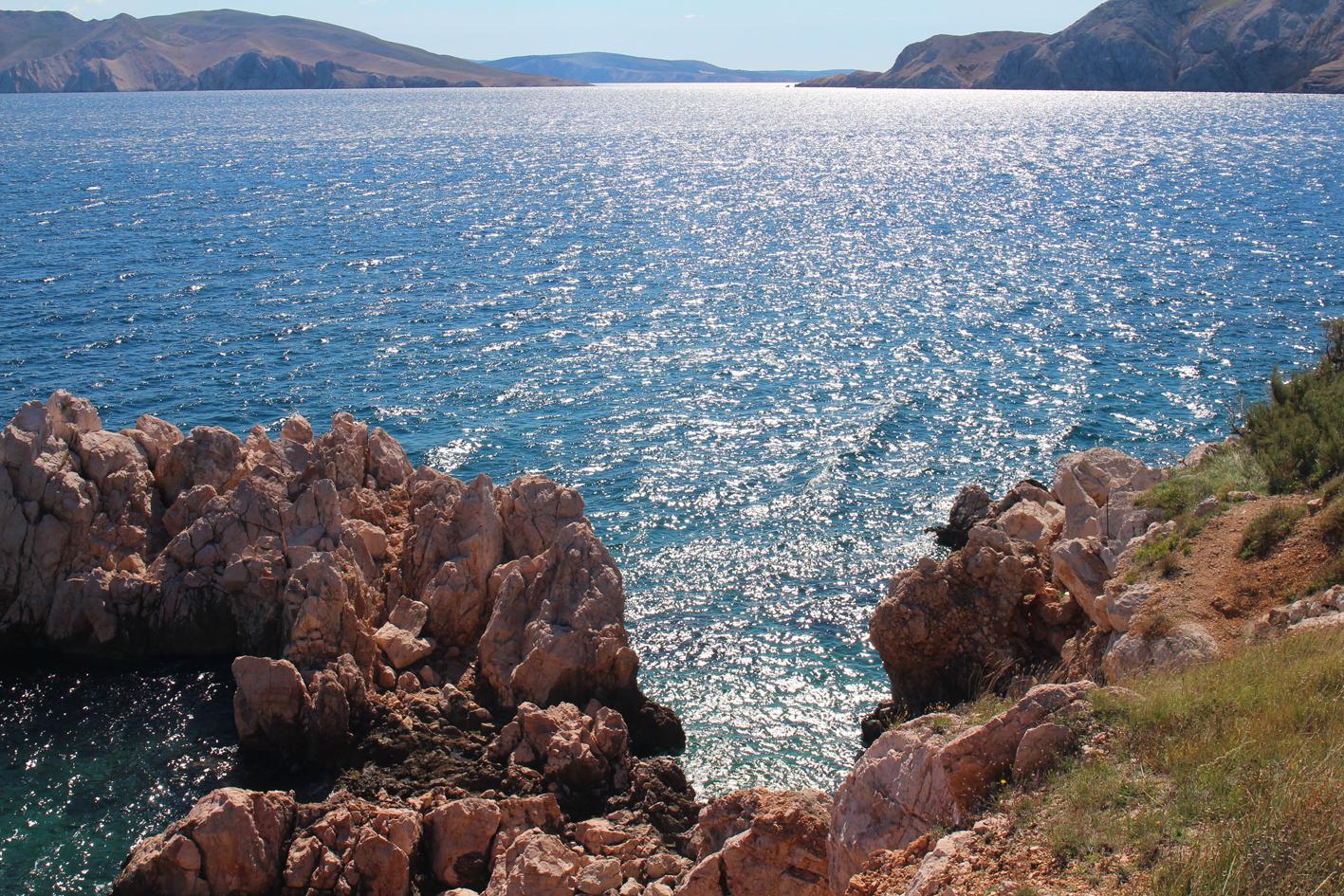 Baska, island Krk Kroatien