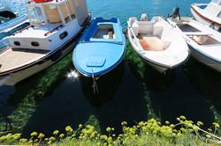 Harbor in Baska, Krk