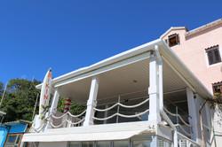 Pub with sea-view, Baska