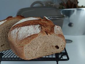 Schnellstes Brot der Welt ohne Gehzeit gebacken im Ofenmeister von Pampered Chef®