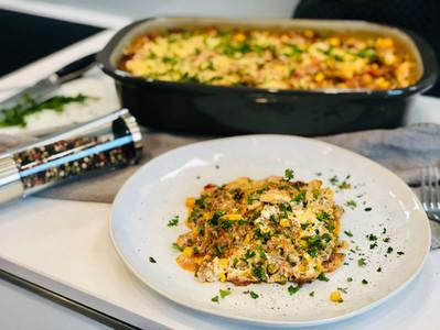 Lasagne aus der rechteckigen großen Ofenhexe® von Pampered Chef®
