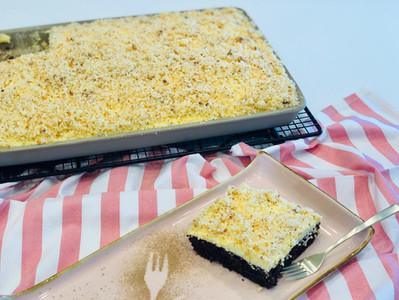 Sägespänekuchen gebacken im großen Ofenzauberer von Pampered Chef®
