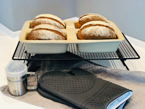 Fränkisches Landbrot aus der Mini-Kastenform Tobi von Pampered Chef®