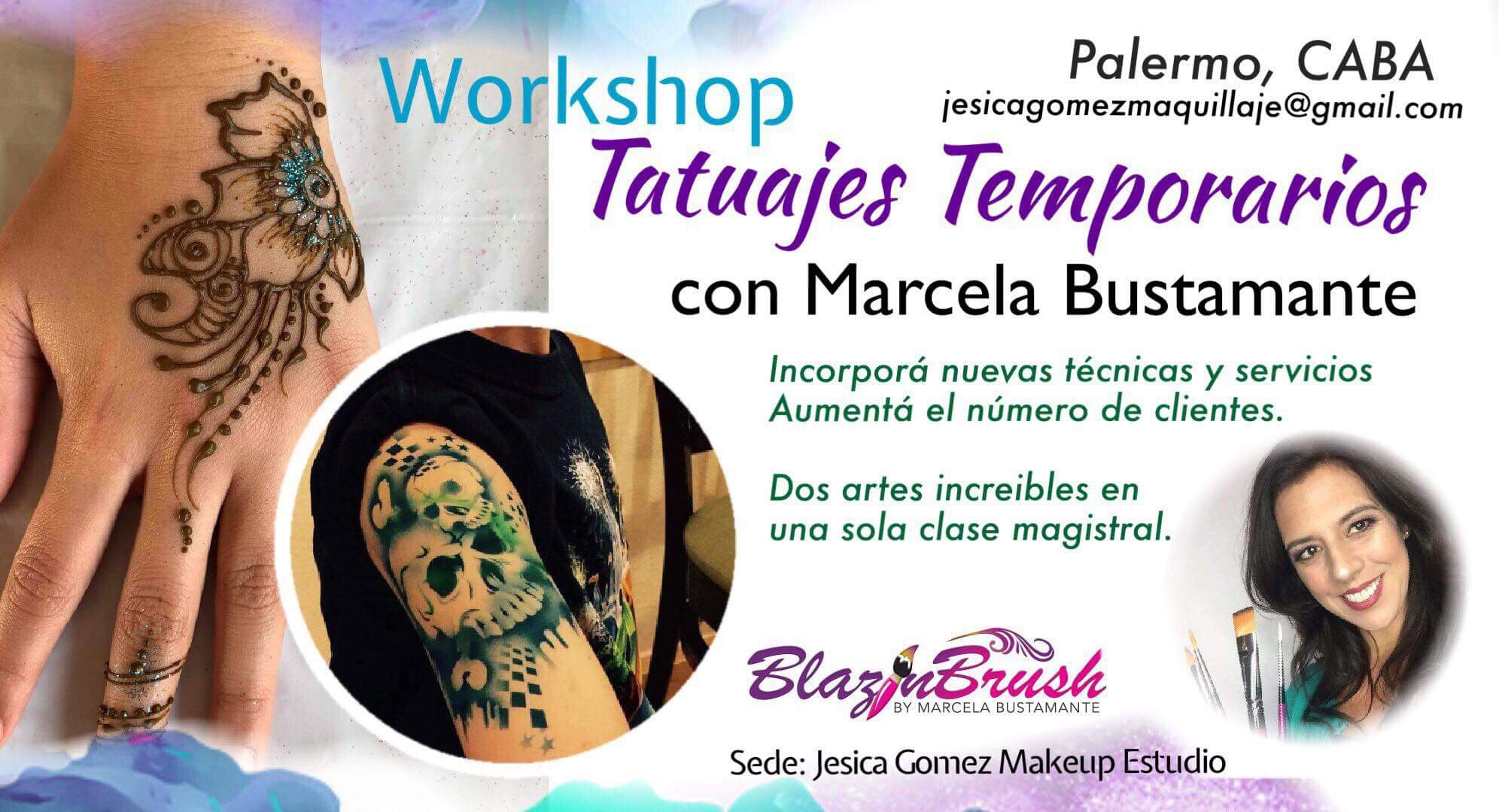 Tatuajes Temporarios en Palermo