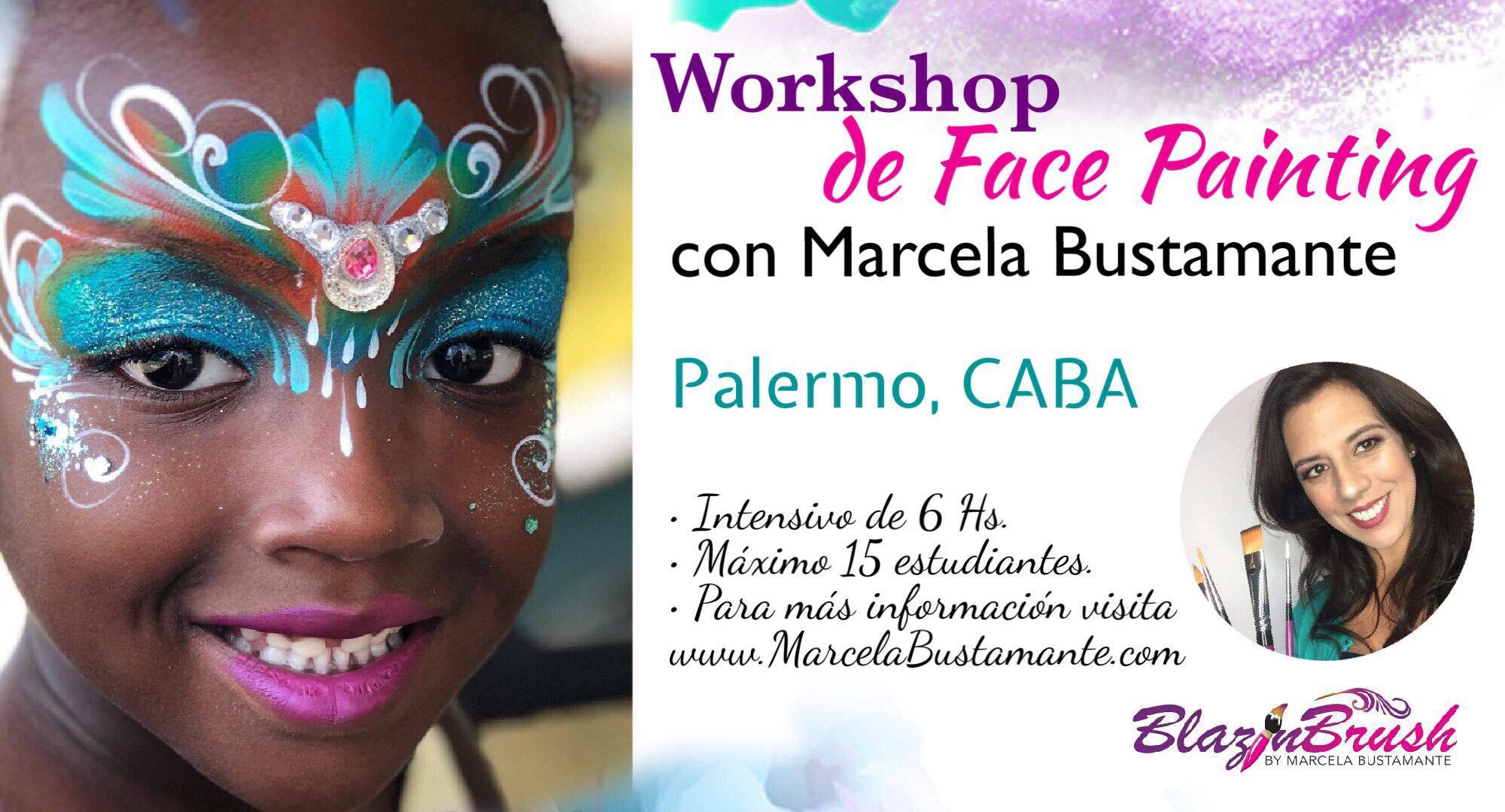 Marcela Bustamante en Palermo- Argentina