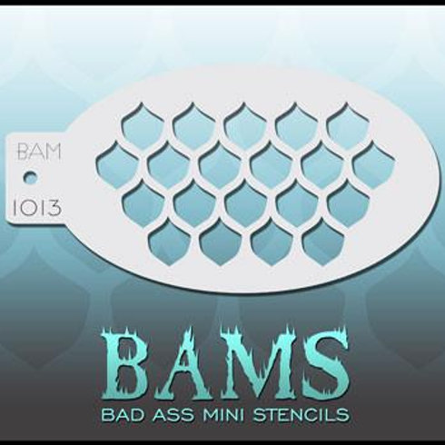 BAM1013 BAD ASS MINI STENCIL BAD ASS MINI STENCIL