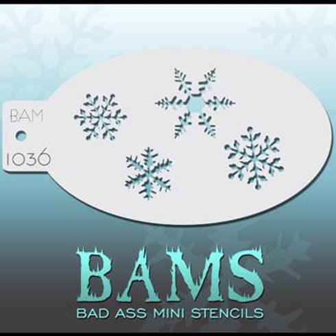 BAM1036 BAD ASS MINI STENCIL