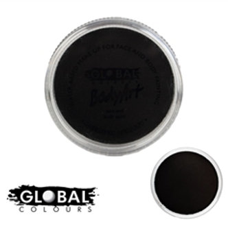 Standard Strong Black - Global Body Art Face Paint - 32gr