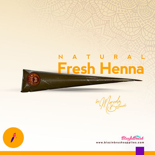 Henna Natural by Blazin Brush