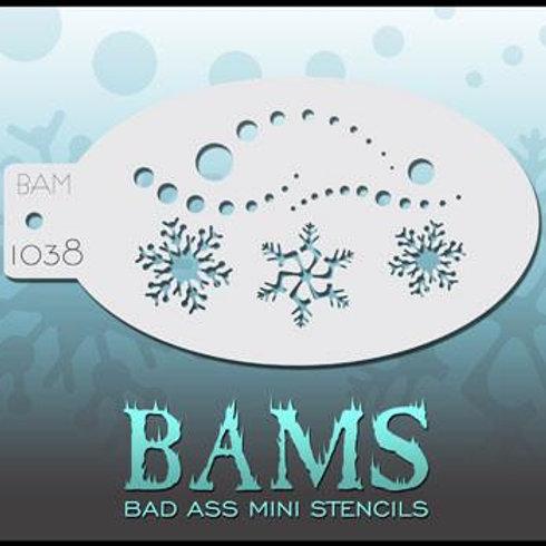 BAM1038 BAD ASS MINI STENCIL