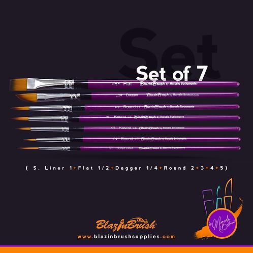 Set of 7
