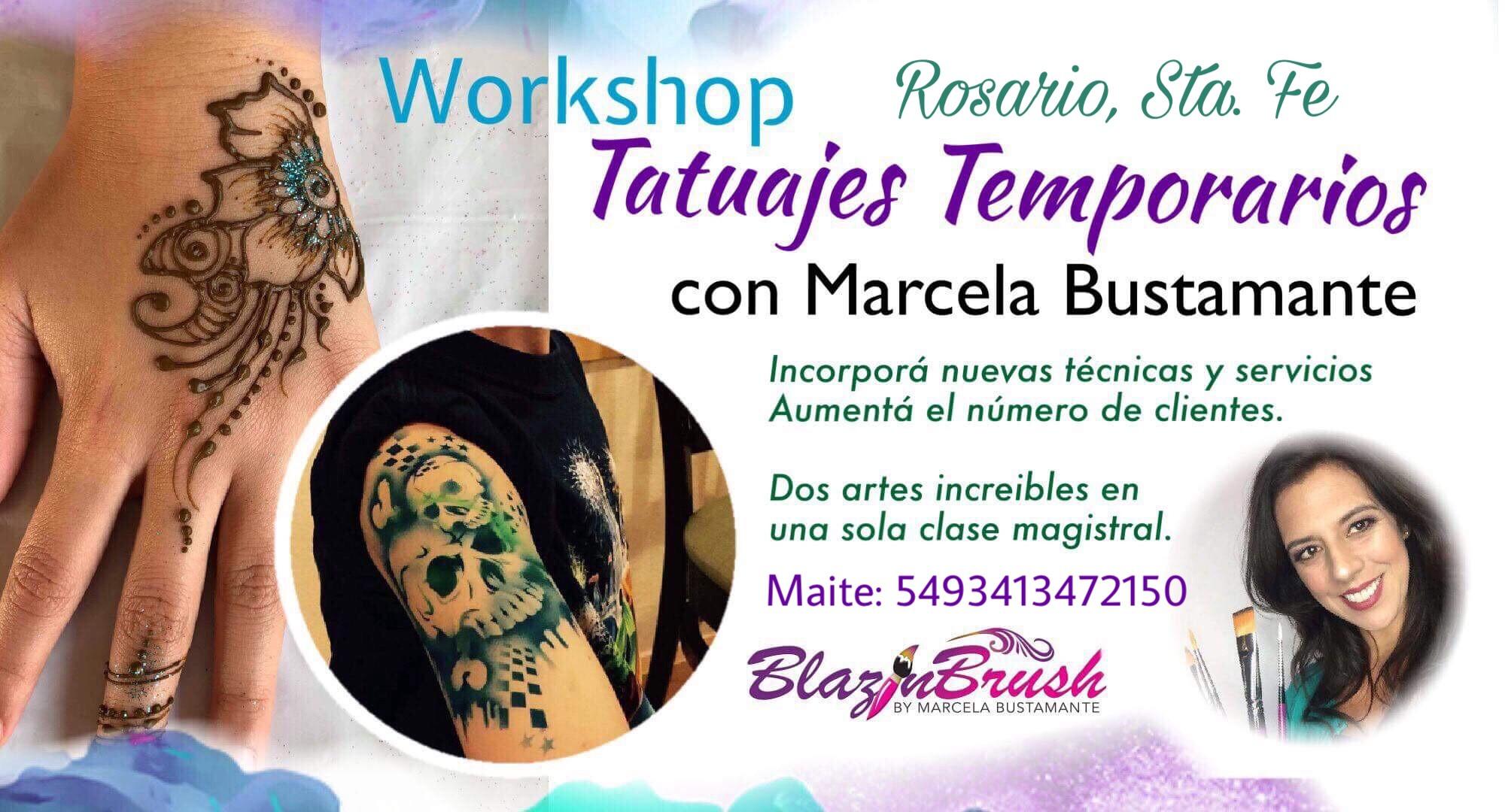 Tatuajes temporarios en Rosario