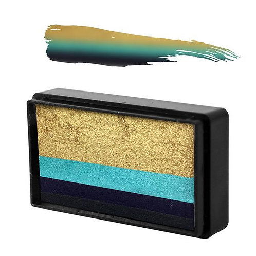 BLUE WREN NATALEE DAVIES' GOLD COLLECTION ARTY BRUSH CAKE