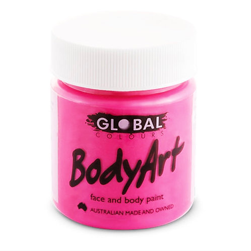 Global Color Paint-Liquid Flúor Pink 45 ml.