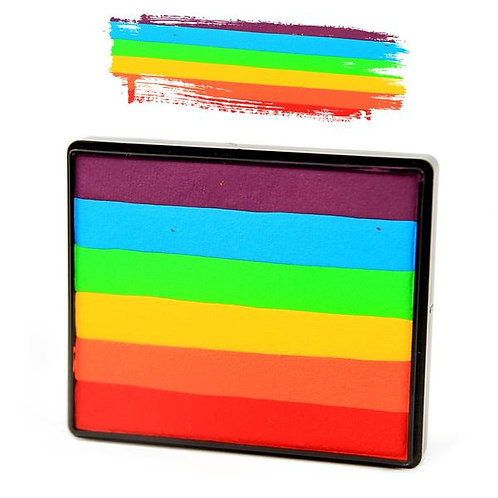 """True Rainbow"" Rainbow Cake 2oz (50gr)"