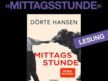 """Inge Mathis liest aus """"MITTAGSSTUNDE"""""""