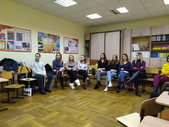 Площадка для молодых педагогов на базе гимназии № 25