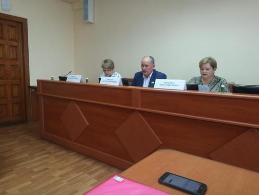Встреча молодых педагогов с  заместителями министра образования и ректором ИРО