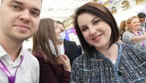 Опыт участия в I Всероссийском форуме классных руководителей.