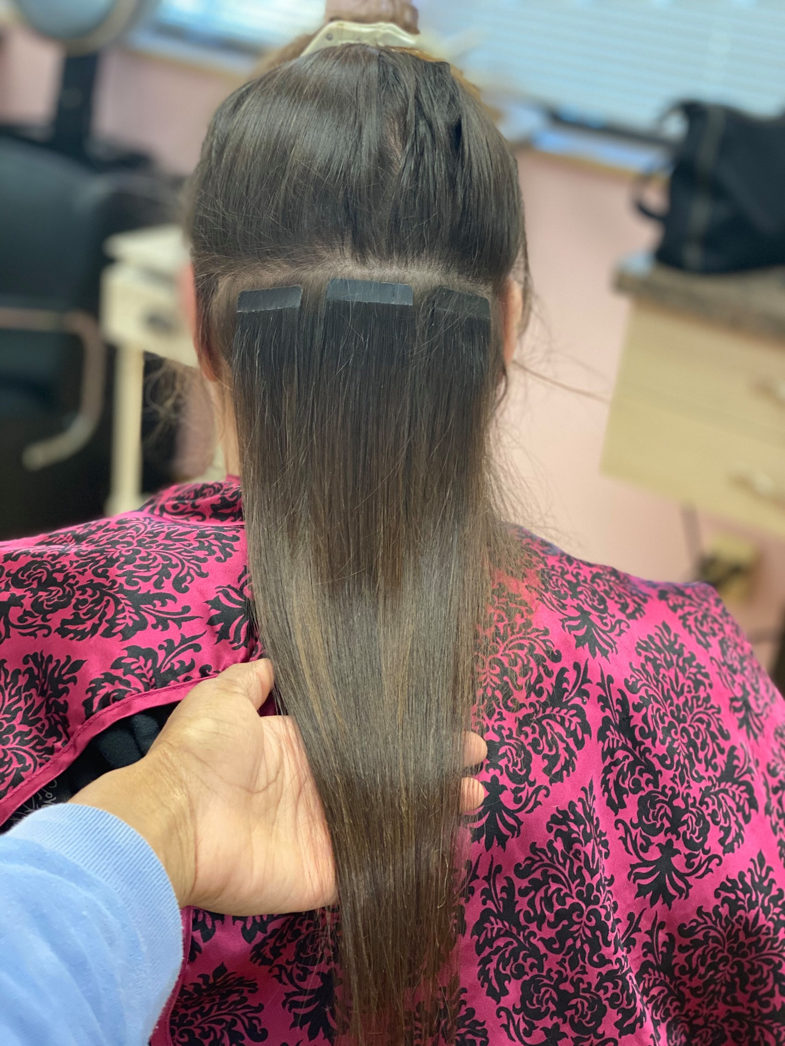 Tape In Extensions Half Head