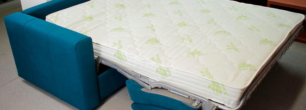 sedačka se zabudovanou matrací