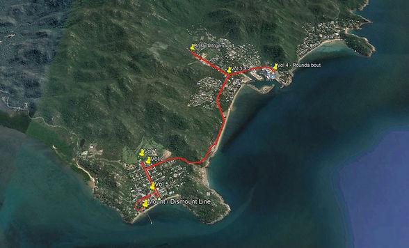 Map of Bike leg Sprint.JPG