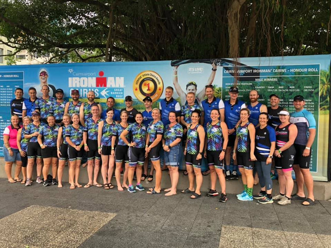 70.3 Cairns - Group Training
