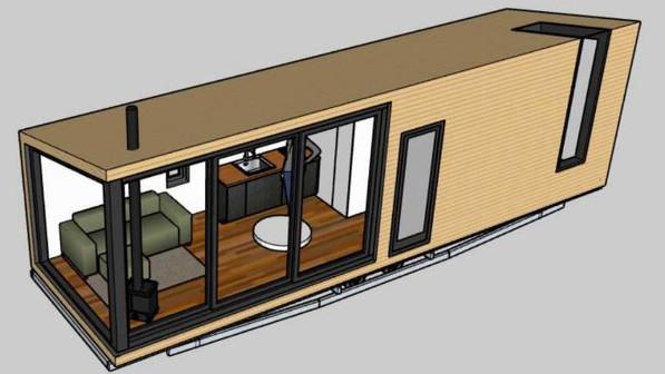 SINGLE FLOOR TINY HOUSE
