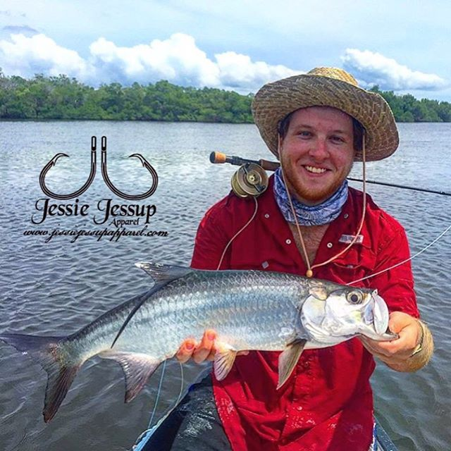Big shout out to _the_canon for representing us out on the water! #tarpon #buff give him a follow an