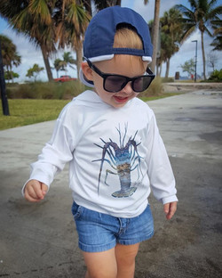 Check out this cutie! Wearing our Toddle