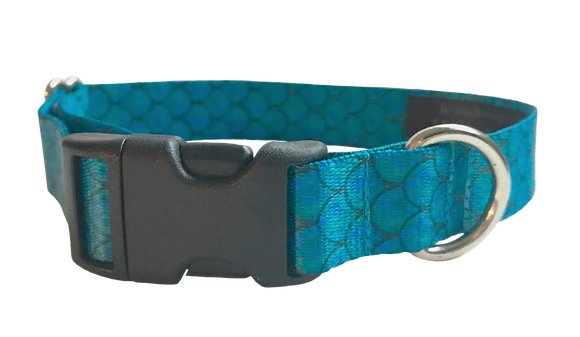 Mermaid Scales Pet Collar