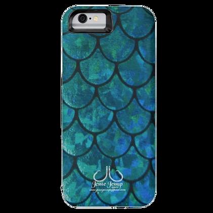 Mermaid Scales Battery IPhone 6 Case
