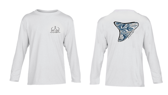 Youth Shark Frenzy Performance LS/SS